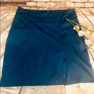 Antigua Desert Dry Golf Tennis Athletic Blue Skort